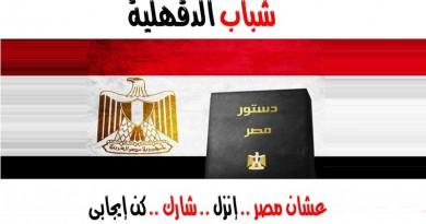 """شباب الدقهلية يدشنون حملة """" عشان مصر .. إنزل .. شارك .. كن إيجابي """""""
