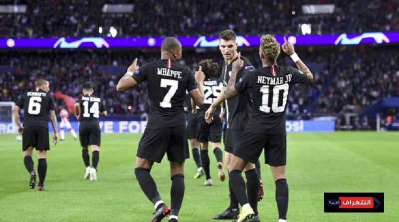 باريس سان جيرمان بطلاً للدوري الفرنسي