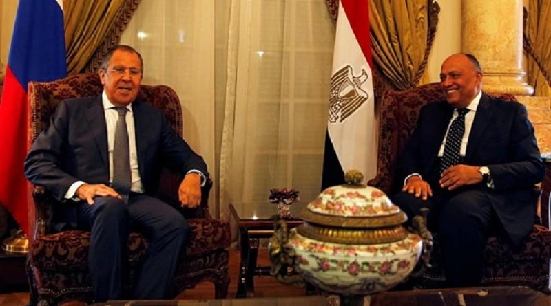سامح شكري: الأزمة في ليبيا لن تحل بالوسائل العسكرية