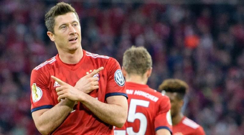 كأس ألمانيا: تسعة أهداف وعشرة لاعبين بايرن ميونيخ في نصف النهائي