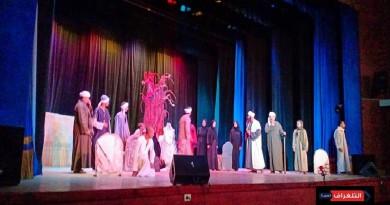 كوميديا مغربية تثير ضحك جمهور أسيوط