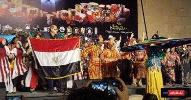 """مهرجان الطبول الدولى """" يشعل حماس الجماهير""""بالقلعة"""