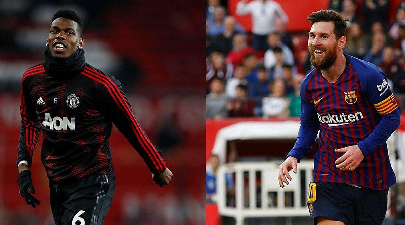 برشلونة ومانشستر يونايتد دوري أبطال أوروبا