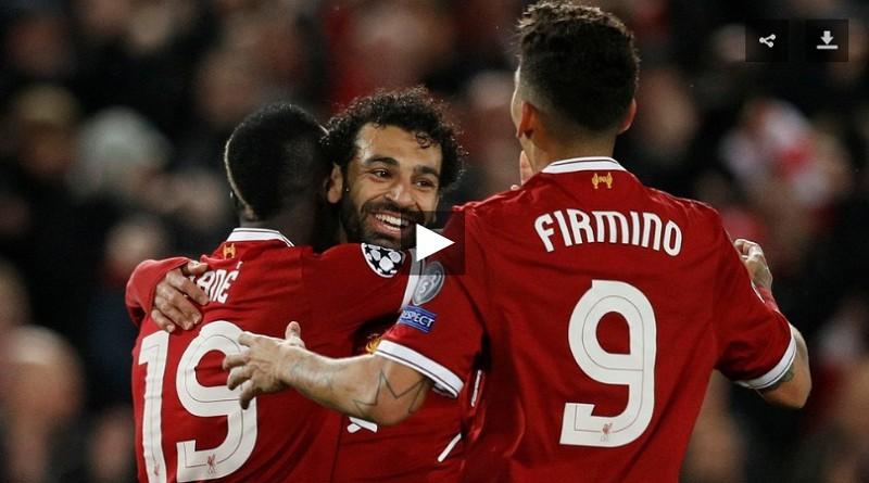 برشلونة وليفربول دوري أبطال أوروبا