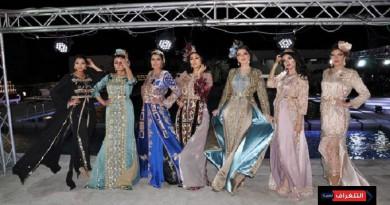 الناظور تشهد أكبر عرض أزياء للقفطان المغربي