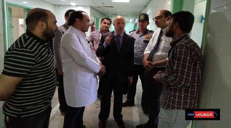 افتتاح المركز الطبي المتطور لعلاج وجراحات الكبد والبنكرياس والجهاز الهضمي بمستشفي حميات الزقازيق
