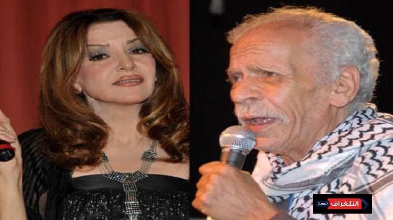 احمد نجم وزوجته عزه بلبع