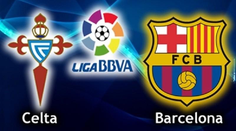 برشلونة وسيلتا فيغو الدوري الاسباني