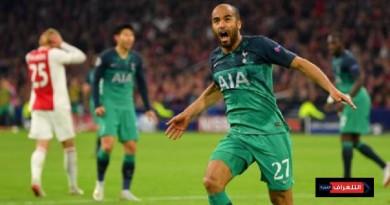 توتنهام يتأهل لنهائي دوري أبطال أوروبا و يحقق المستحيل
