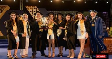 الجامعة الأمريكية بالقاهرة تحتفل بتخريج دفعات جديدة للبكالوريوس والدراسات العليا