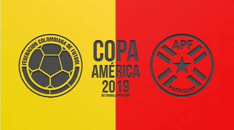 كولمبيا وباراجواي كوبا أمريكا 2019