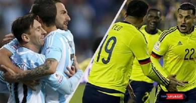 الارجنتين وكولمبيا كوبا أمريكا 2019