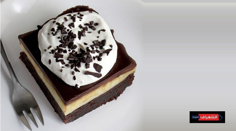WHITE CHOCOLATE FUDGE FROSTED BROWNIES