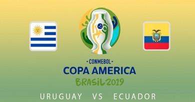 اوروجواي والاكوادور كوبا أمريكا 2019