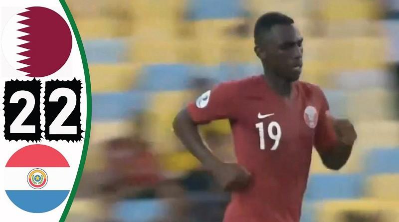 أهداف قطر وباراجواي