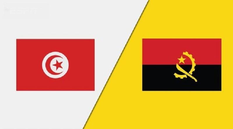 تونس وانجولا كأس الأمم الأفريقية