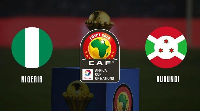 نيجيريا وبوروندي كأس الأمم الأفريقية
