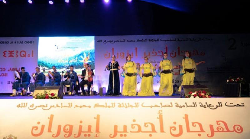 نجاة اعتابو تلتقي رويشة وتشنويت وأحوزار في النسخة الثالثة من مهرجان أجذير إيزوران