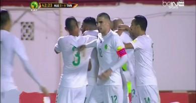 أهداف الجزائر وتنزانيا كأس الأمم الأفريقية