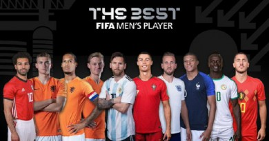 الكشف عن المرشحين لجائزة أفضل لاعب في العالم