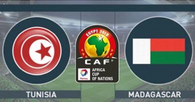 مدغشقر وتونس كأس الأمم الأفريقية