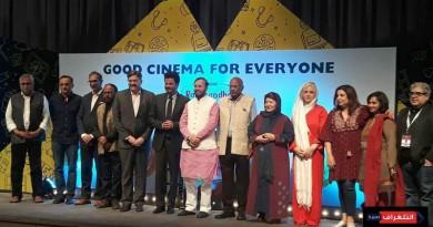 الممثل الهندي «أنيل كابور» يستقبل المخرجة الايرانية «بوران درخشنده»
