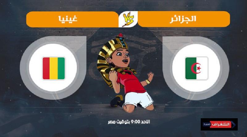 الجزائر وغينيا كأس الأمم الأفريقية