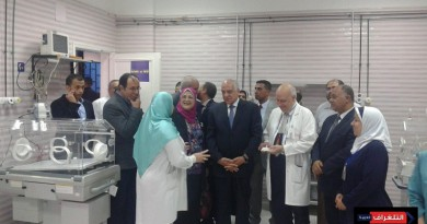 محافظ الجيزة ووكيل وزارة الصحة يفتتحان مستشفى التحرير العام بعد تطويرها