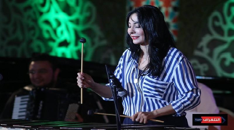 امسية موسيقية لأميرة الإيقاع باوبرا الاسكندرية