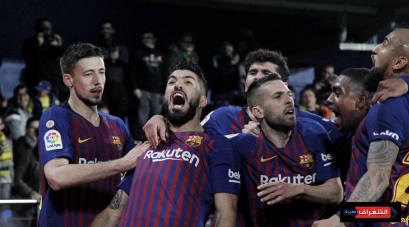 تشكيلة برشلونة الرسمية أمام نابولي