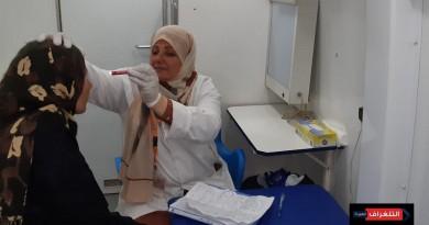 بالصور..تقديم الخدمات الطبية لـ 416 مريضا فى قافلة الصحة لجزيرة الوراق بالجيزة