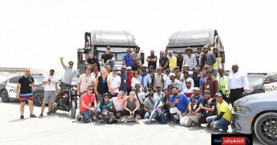 """نشر صور حصرية من وراء كواليس فيلم الحركة الهندي """"ساهو"""" في أبوظبي"""