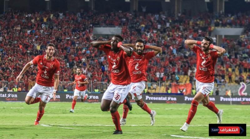 أجايي يحقق السوبر المصري للأهلي أمام الزمالك