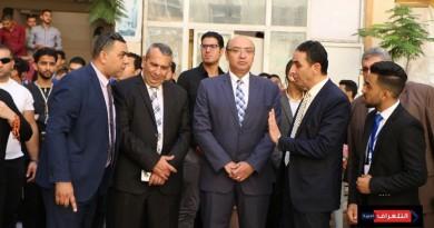 بالصور.. حفل إستقبال الطلاب الجدد في جامعة المنصورة