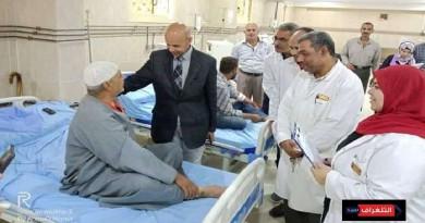 التجيهزات النهائيه لإفتتاح العناية المركزة للأطفال بمستشفى القنايات بالشرقية