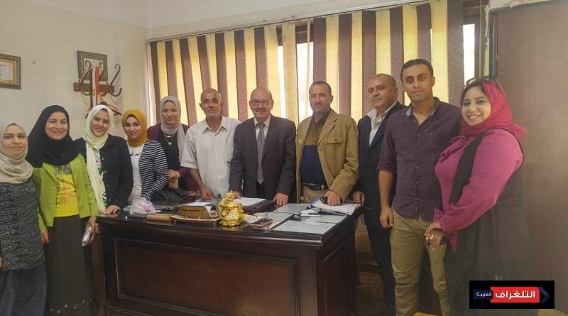 مسعود يشدد على الإهتمام بالتدريب بصحة الشرقيه