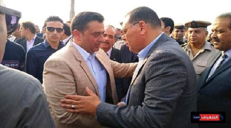 غراب يعزى رئيس مصلحة الأمن العام بالشرقية
