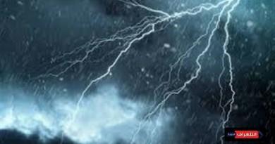 طقس نهاية الاسبوع : انخفاض تدريجى وامطار رعدية على اماكن متفرقة
