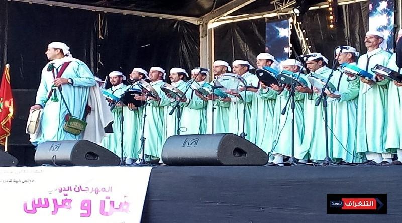 تكادة وعائشة مايا نجوم ختام مهرجان فن وفرس
