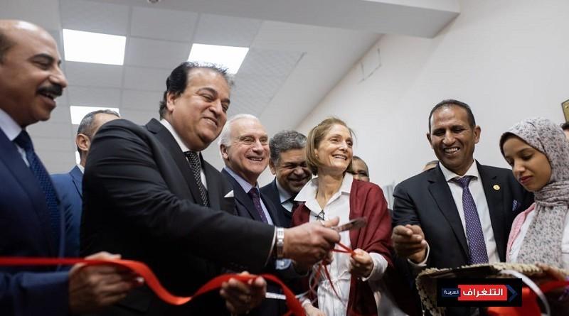 افتتاح المركز الجامعي للتطوير المهني بجامعة أسوان
