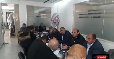 العربية الفلسطينية تهنئ أمينها العام بانطلاقة الثورة الفلسطينية