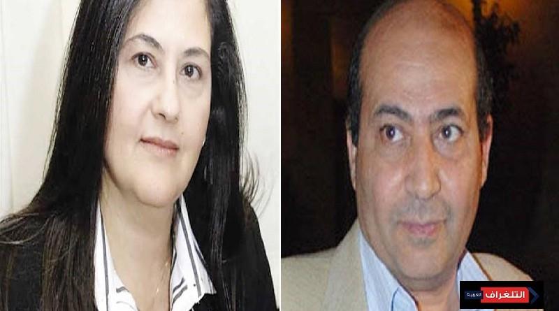 طارق الشناوي والدكتوره هويدا مصطفى بملتقي القوة الناعمة للسلام العالمي