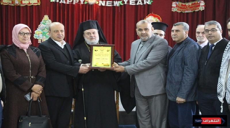 فتح تقدم التهاني والتبريكات للطائفة المسيحية التقويم الشرقي بالميلاد المجيد 