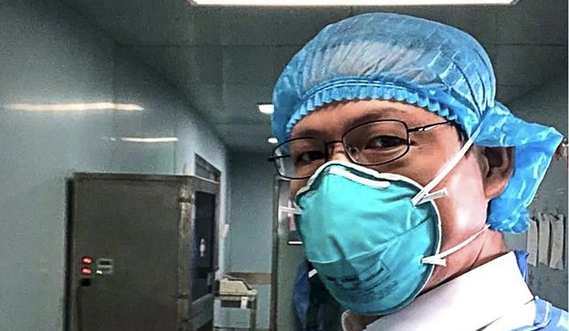 Dr Jiang Rongmeng, an infectious disease specialist, was part of the medical team sent to Wuhan. Photo: Weibo
