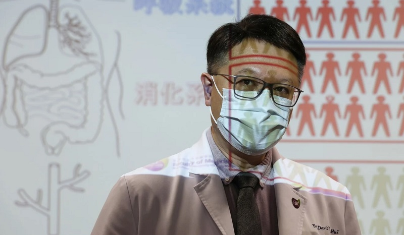 Professor David Hui Shu-Cheong says doctors in Hong Kong use N95 masks even when they are not performing tasks that may expose them to the coronavirus. Photo: Xiaomei Chen