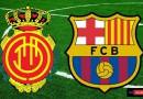 ريال مايوركا وبرشلونة الدوري الاسباني