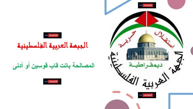 العربية الفلسطينية: ندعم كل خطوة تحقق المصالحة الفلسطينية