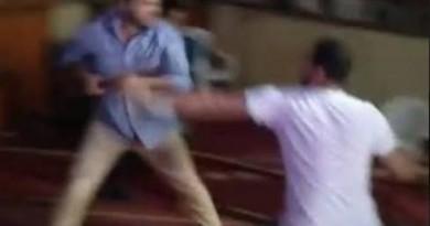 التفاصيل الكامله لحادثه مشاجره مسجد المعادي