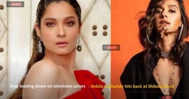 Stop looking down on television actors: Ankita Lokhande hits back at Shibani Dand