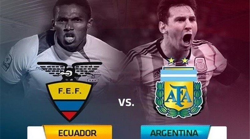 اهداف مباراة الأرجنتين والإكوادور